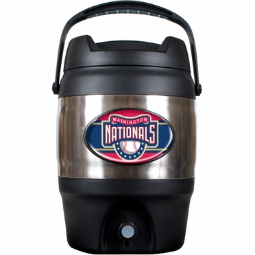 Washington Nationals 3 Gallon Stainless Steel Jug