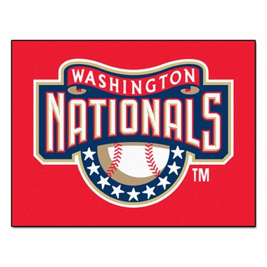 Washington Nationals 34 x 45 Rug
