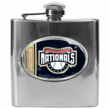 Washington Nationals 6 oz. Hip Flask