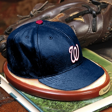 Washington Nationals Ball Cap Figurine
