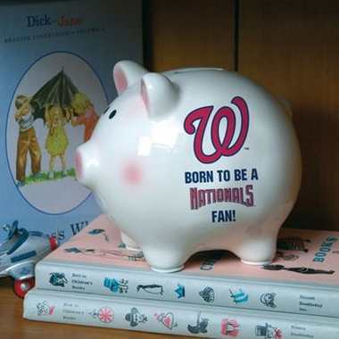Washington Nationals (Born to Be) Piggy Bank