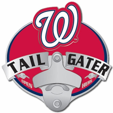 Washington Nationals Bottle Opener Hitch Cover