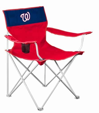 Washington Nationals Canvas Adult Folding Logo Chair