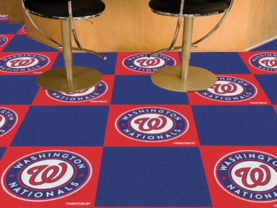Washington Nationals Carpet Tiles