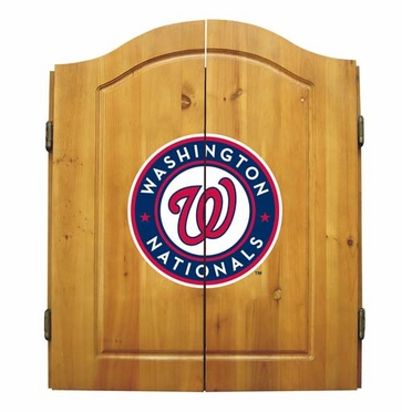 Washington Nationals Complete Dart Cabinet