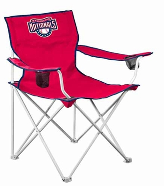 Washington Nationals Deluxe Adult Folding Logo Chair
