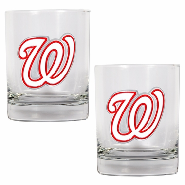 Washington Nationals Double Rocks Set