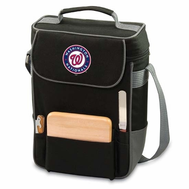 Washington Nationals Duet Compact Picnic Tote (Black)