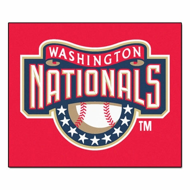 Washington Nationals Economy 5 Foot x 6 Foot Mat
