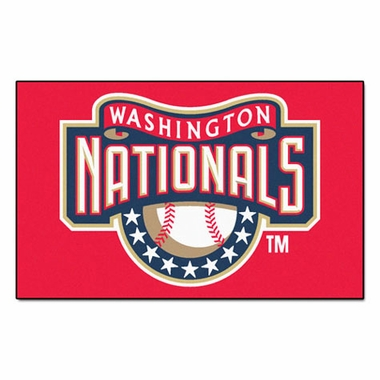 Washington Nationals Economy 5 Foot x 8 Foot Mat