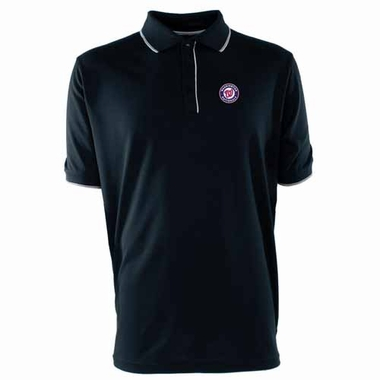 Washington Nationals Mens Elite Polo Shirt (Team Color: Navy)