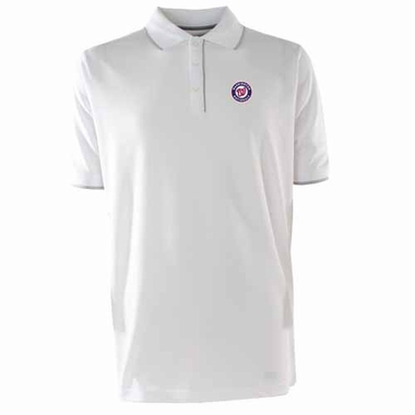 Washington Nationals Mens Elite Polo Shirt (Color: White)