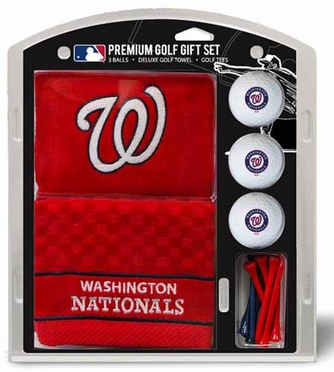 Washington Nationals Embroidered Towel Gift Set