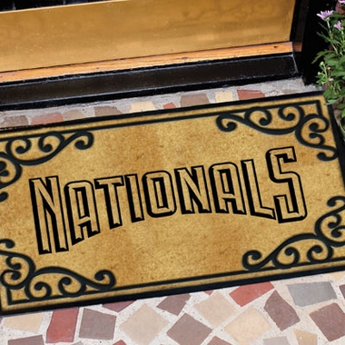 Washington Nationals Exterior Door Mat