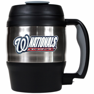 Washington Nationals Jumbo Heavy Duty Travel Mug
