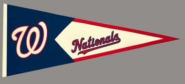 Washington Nationals Large Wool Pennant