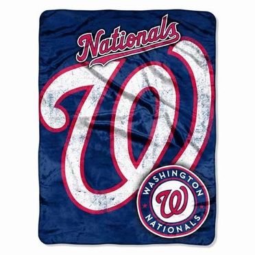 Washington Nationals Microfiber Throw