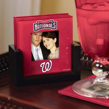 Washington Nationals Photo Coaster Set