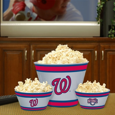 Washington Nationals Plastic Serving Set