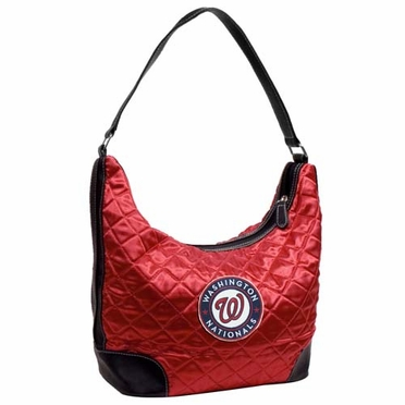 Washington Nationals Quilted Hobo Purse