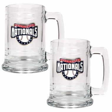 Washington Nationals Set of 2 15 oz. Tankards