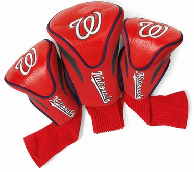 Washington Nationals Set of Three Contour Headcovers