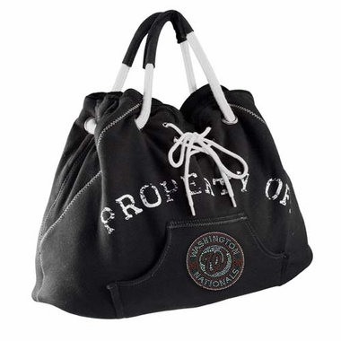 Washington Nationals Sport Noir Hoodie Tote