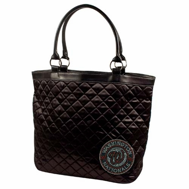 Washington Nationals Sport Noir Quilted Tote