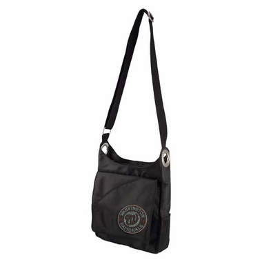 Washington Nationals Sport Noir Sheen Crossbody Bag