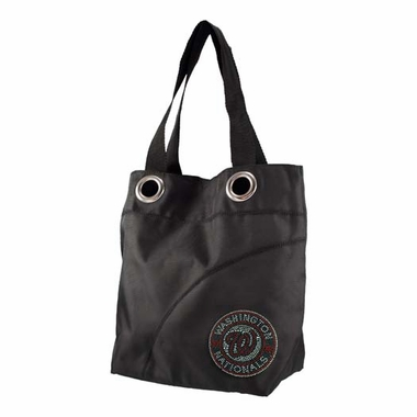 Washington Nationals Sport Noir Sheen Tote