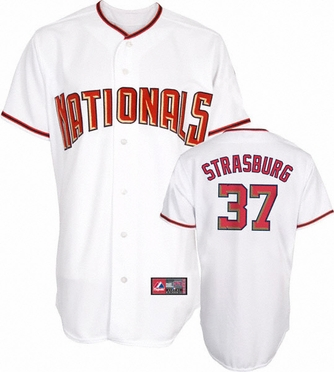 Washington Nationals Stephen Strasburg Replica Player Jersey