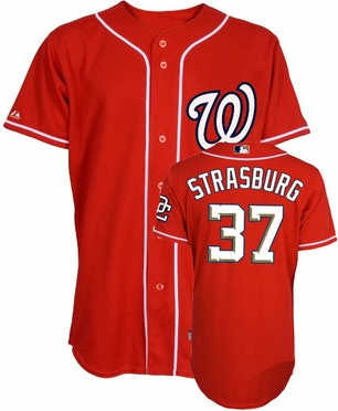 Washington Nationals Stephen Strasburg Replica Player Jersey (Alternate)