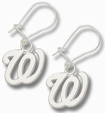 Washington Nationals Sterling Silver Post or Dangle Earrings