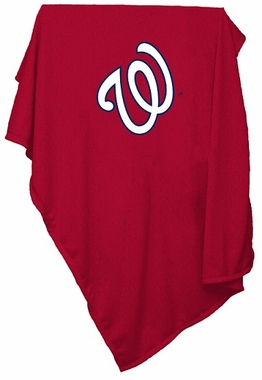 Washington Nationals Sweatshirt Blanket