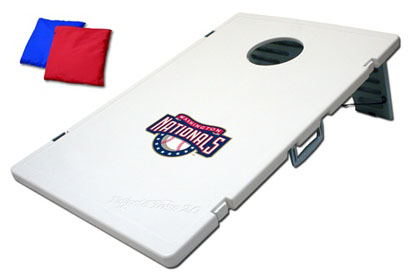 Washington Nationals Tailgate Toss 2.0 Cornhole Beanbag Game