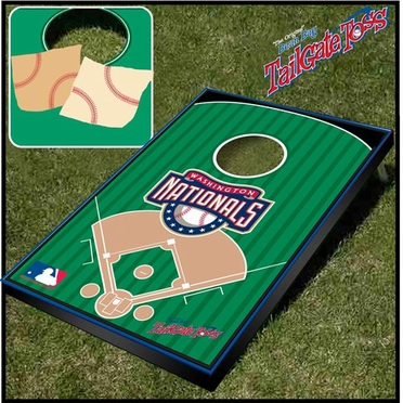Washington Nationals Tailgate Toss Cornhole Beanbag Game