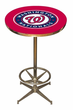 Washington Nationals Team Pub Table