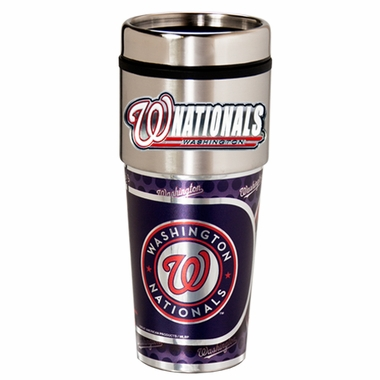 Washington Nationals Travel Tumbler with Hi-Def Graphics