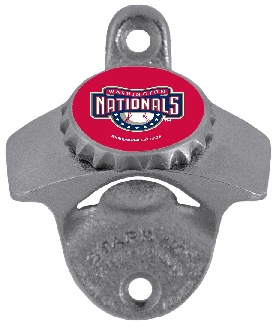 Washington Nationals Wall Mount Bottle Opener