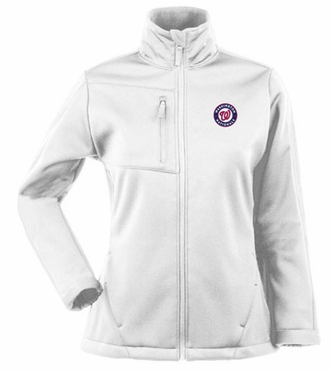 Washington Nationals Womens Traverse Jacket (Color: White)