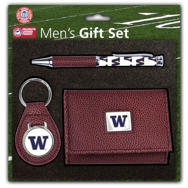 Washington Pebble Wallet Gift Set