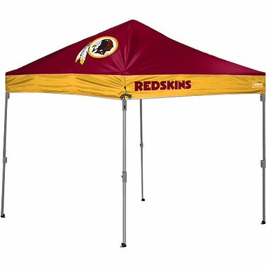 Washington Redskins 10 x 10 Straight Leg Shelter