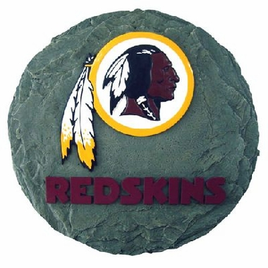 "Washington Redskins 13.5"" Stepping Stone"