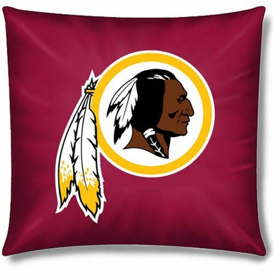 Washington Redskins 15 Inch Applique Pillow