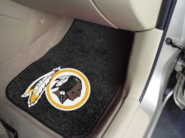 Washington Redskins 2 Piece Car Mats