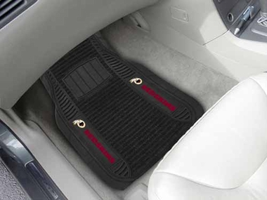 Washington Redskins 2 Piece Heavy Duty DELUXE Vinyl Car Mats