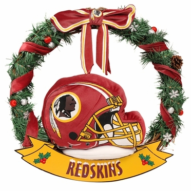 "Washington Redskins 20"" Helmet Door Wreath"