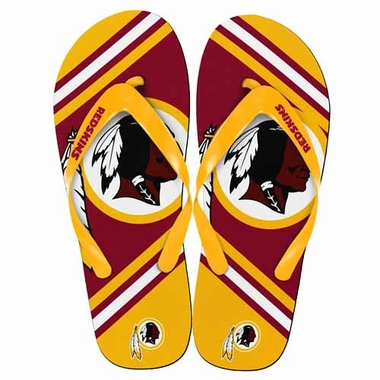 Washington Redskins 2013 Unisex Big Logo Flip Flops