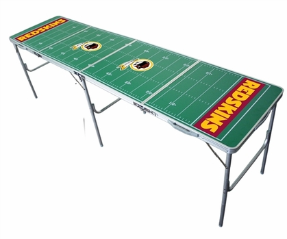 Washington Redskins 2x8 Tailgate Table