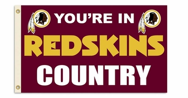 Washington Redskins 3' x 5' Flag (Country) (F)